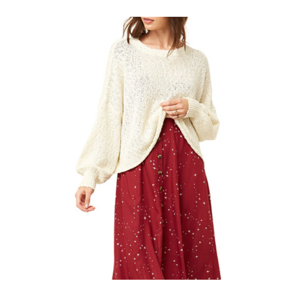 オニール レディース パーカー・スウェットシャツ アウター Seaport Sweater Pullover Winter White