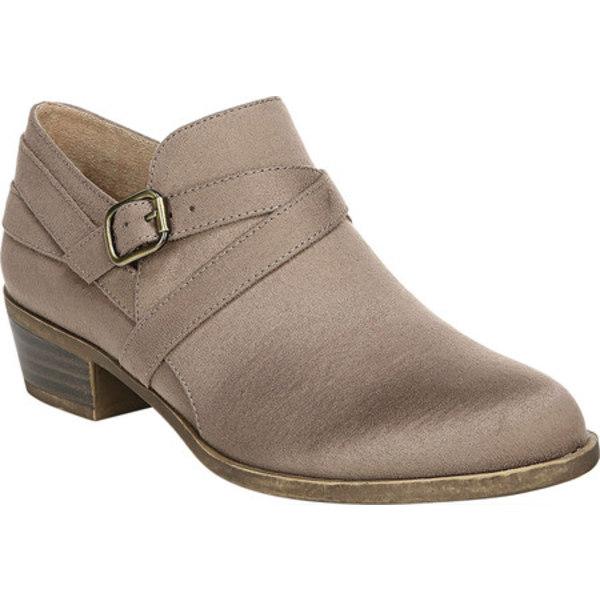 ライフストライド レディース ブーツ&レインブーツ シューズ Adley Ankle Bootie Mushroom Faux Leather