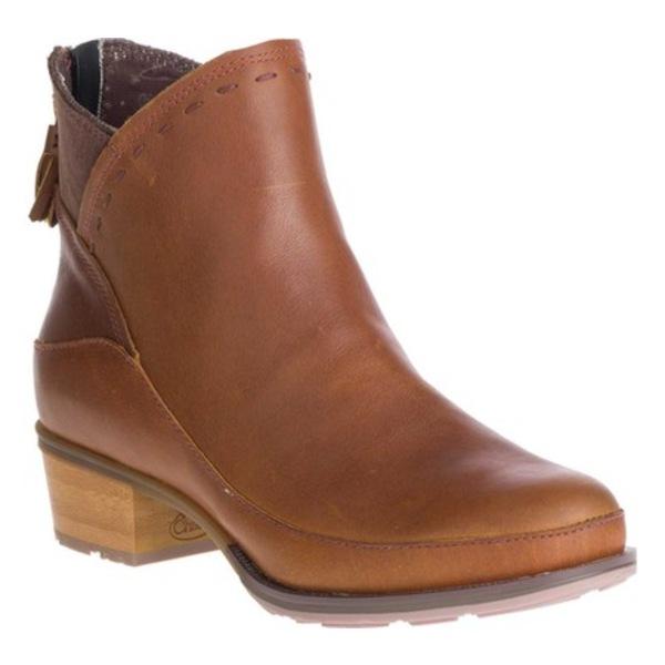 チャコ レディース スニーカー シューズ Cataluna Mid Boot Ochre Full Grain Leather