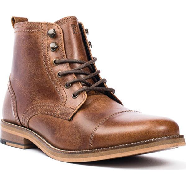 クレボ メンズ ドレスシューズ シューズ Bookham Cap Toe Boot Chestnut Leather