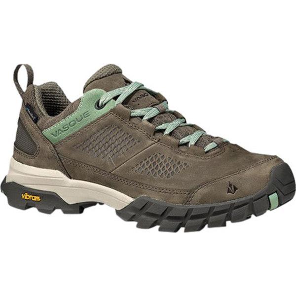 バスク レディース ブーツ&レインブーツ シューズ Talus All-Terrain Low UltraDry Hiking Shoe Bungee/Basil Waterproof Nubuck/Mesh