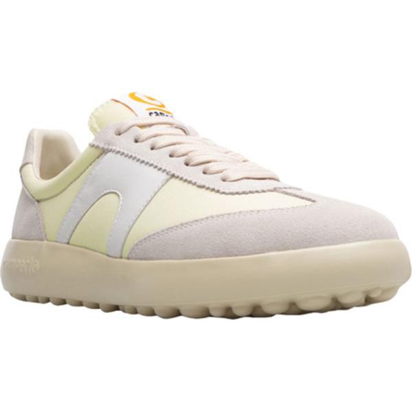 カンペール レディース スニーカー シューズ Pelotas XLF Nubuck/Fabric Sneaker Cream Nubuck/Textile