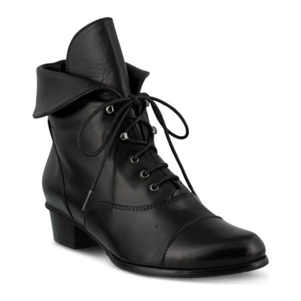 スプリングステップ レディース ブーツ&レインブーツ シューズ Galil Black Leather