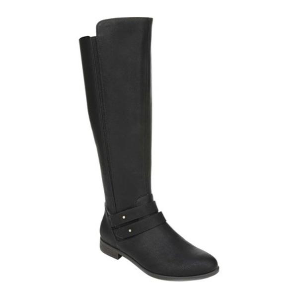 ドクター・ショール レディース ブーツ&レインブーツ シューズ Reach For It Knee High Boot Black Smooth Polyurethane