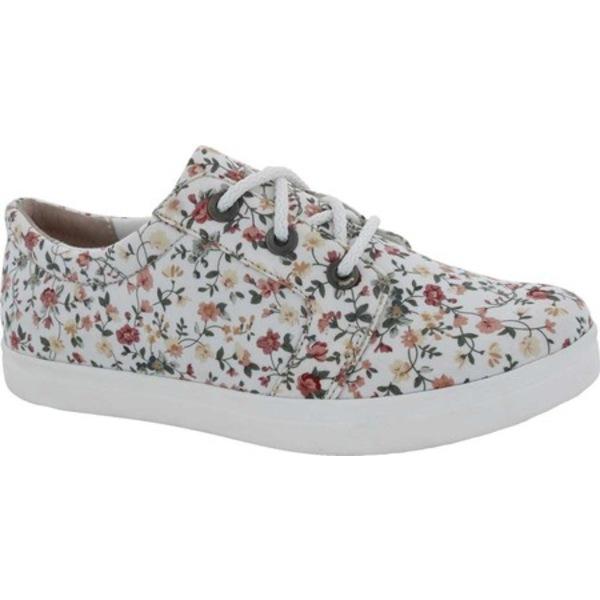 ドリュー レディース オックスフォード シューズ Ruby Sneaker White Multi Textile