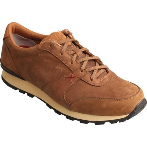 ツイステッド エックス メンズ スニーカー シューズ Western Athleisure Sneaker Saddle Leather