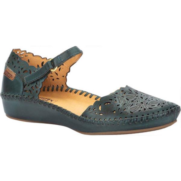 ピコリーノス レディース サンダル シューズ Puerto Vallarta Closed Toe Sandal 655-0906 Emerald Calfskin