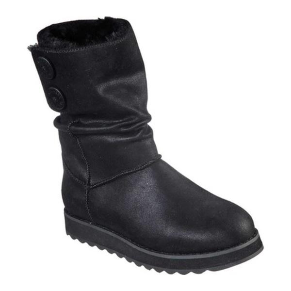 スケッチャーズ レディース ブーツ&レインブーツ シューズ Keepsakes 2.0 Upland Mid Calf Boot Black