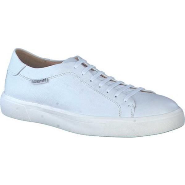 メフィスト メンズ スニーカー シューズ Cristiano Sneaker White Empire Smooth Leather