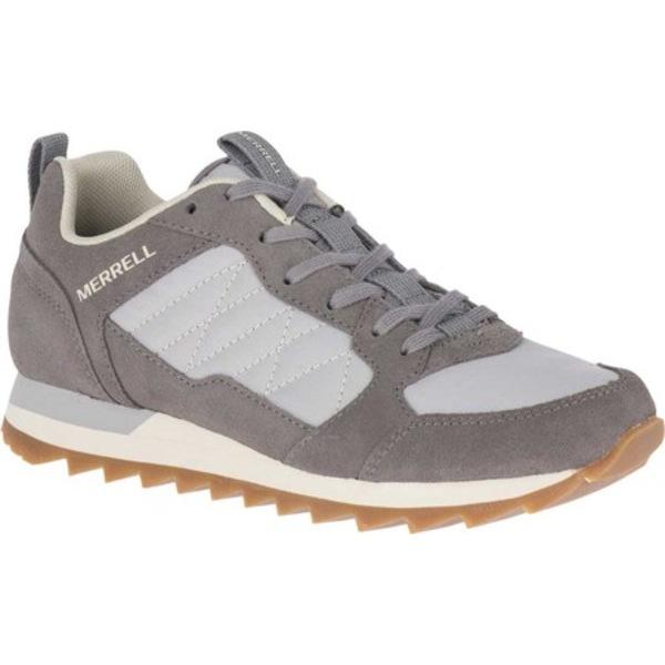 メレル レディース スニーカー シューズ Alpine Sneaker Charcoal/Paloma Leather/Nylon