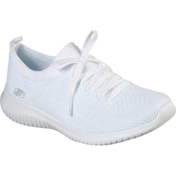 スケッチャーズ レディース スニーカー シューズ Ultra Flex Sugar Bliss Sneaker White