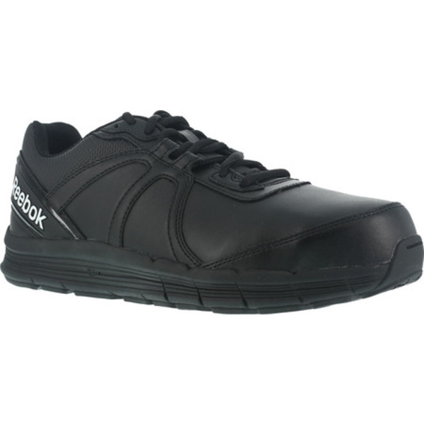 リーボック メンズ ブーツ&レインブーツ シューズ One Guide RB3501 Work Shoe Black Leather