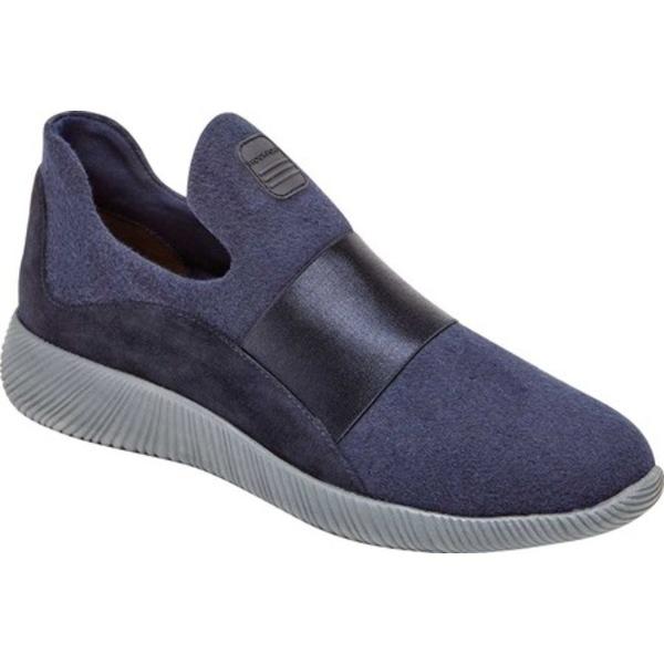 ロックポート レディース スニーカー シューズ City Lites Robyne Slip On Sneaker Blue Wool