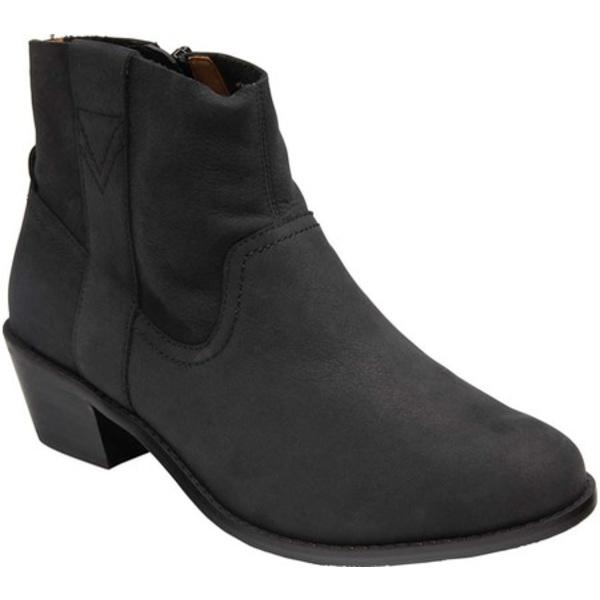 バイオニック レディース ブーツ&レインブーツ シューズ Roselyn Ankle Boot Black Nubuck