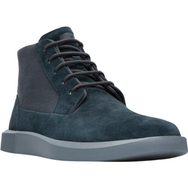 カンペール メンズ ブーツ&レインブーツ シューズ Bill Ankle Boot Charcoal Nubuck/Natural Cotton
