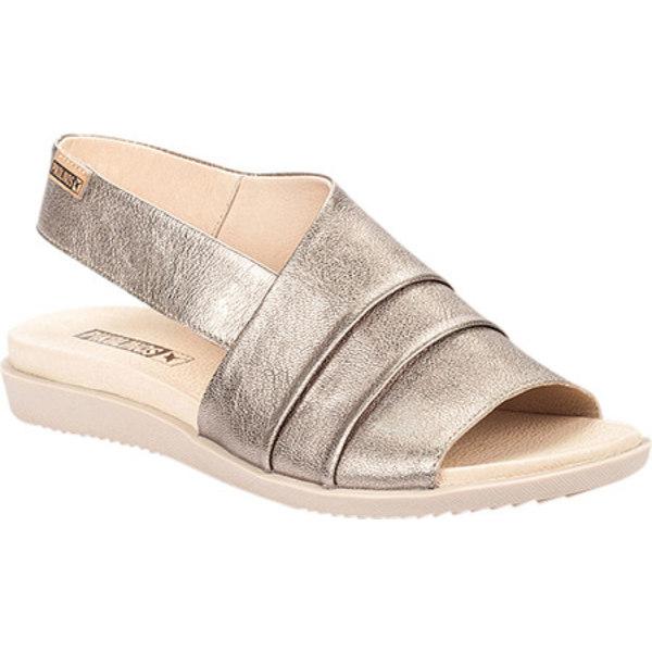 ピコリーノス レディース サンダル シューズ Antillas Slingback Sandal W0H-0810 Stone Leather