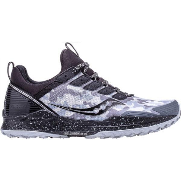 サッカニー メンズ スニーカー シューズ Mad River TR Trail Running Shoe White/Black