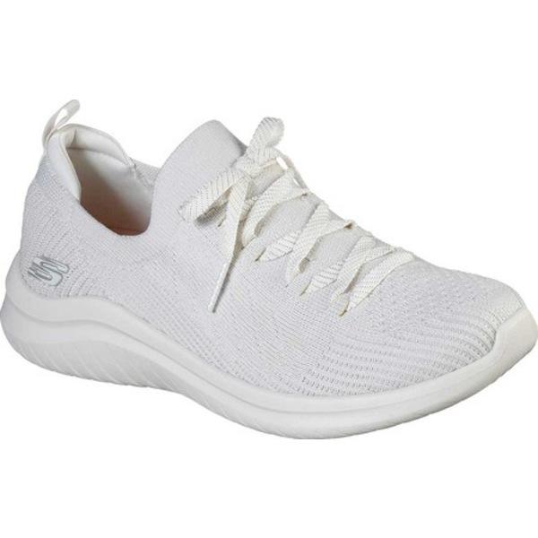 スケッチャーズ レディース スニーカー シューズ Ultra Flex 2.0 Flash Illusion Sneaker Off White