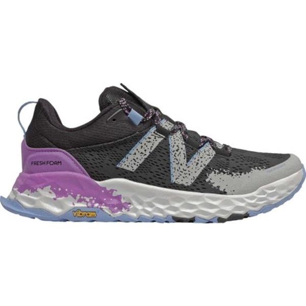 ニューバランス レディース スニーカー シューズ Fresh Foam Hierro v5 Trail Running Shoe Black/Neo Violet