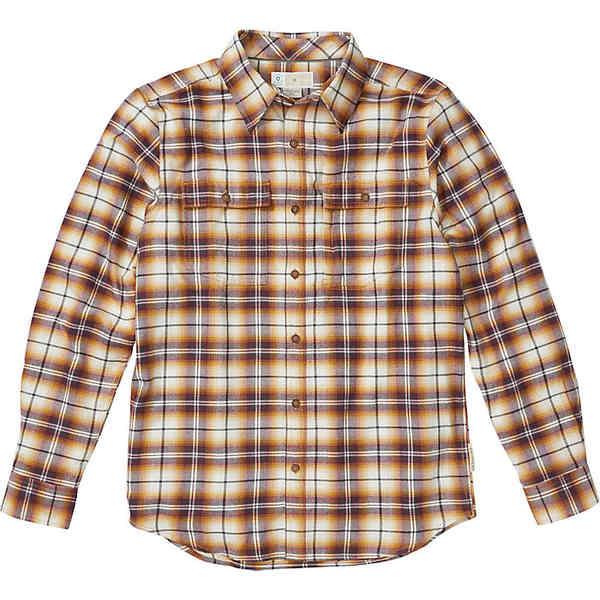 エクスオフィシオ メンズ シャツ トップス ExOfficio Men's BugsAway Redding Midweight Flannel LS Shirt Dijon