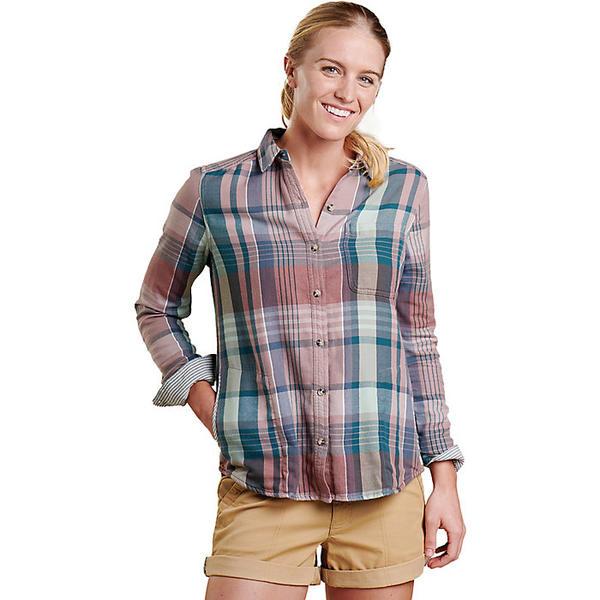 トードアンドコー レディース シャツ トップス Toad & Co Women's Tamarac Overshirt Quail