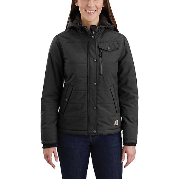 カーハート レディース ジャケット&ブルゾン アウター Carhartt Women's Utility Jacket Black