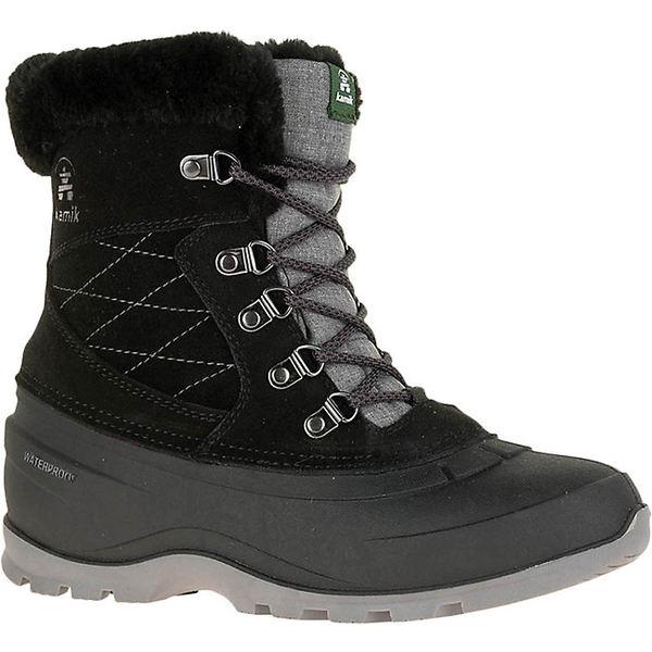 カミック レディース ブーツ&レインブーツ シューズ Kamik Women's SnovalleyL Boot Black