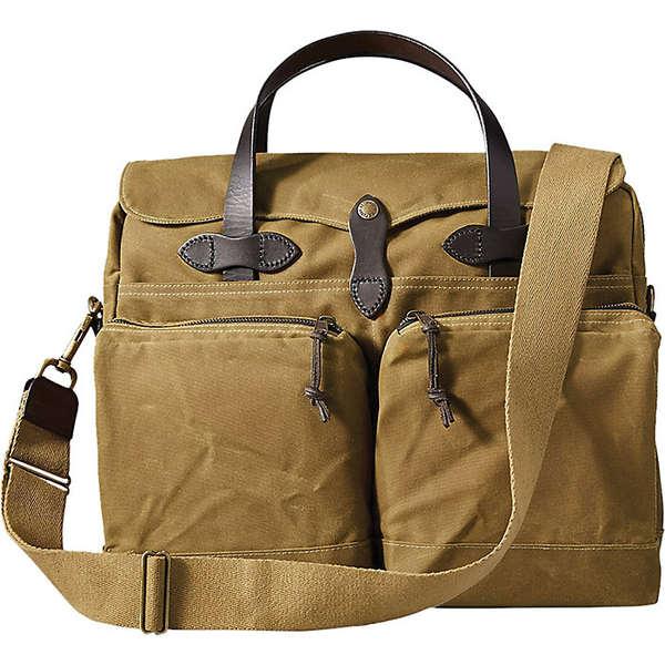 フィルソン レディース 授与 バッグ ボストンバッグ Dark Tan Filson 豊富な品 Briefcase 全商品無料サイズ交換 Hour 24 Tin