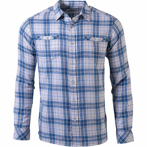 マウンテンカーキス メンズ シャツ トップス Mountain Khakis Men's Shoreline LS Shirt Stellar