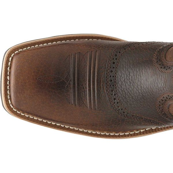 アリアト メンズ ブーツ&レインブーツ シューズ Heritage Roughstock WST Brown Oiled Rowdy Full Grain Leather