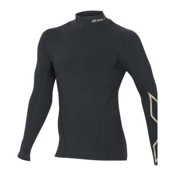 2XU メンズ シャツ トップス MCS Thermal Compression Top Black/Gold