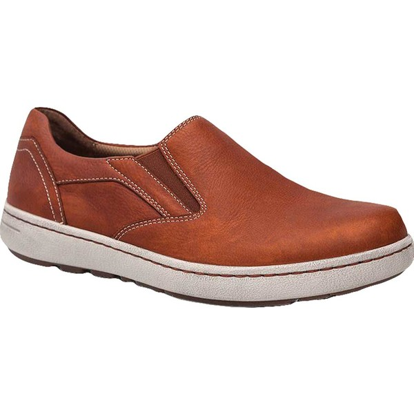 ダンスコ メンズ スニーカー シューズ Viktor Slip-On Sneaker Russet Tumbled Full Grain