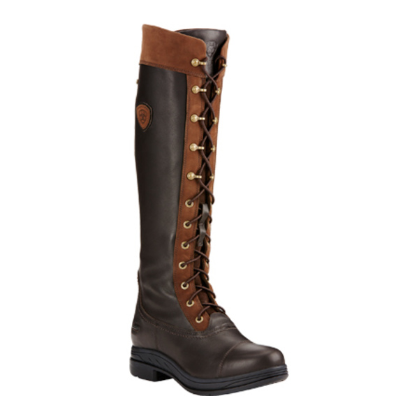 アリアト レディース ブーツ&レインブーツ シューズ Coniston Pro GORE-TEX Insulated Knee High Boot Ebony Waterproof Full Grain Leather