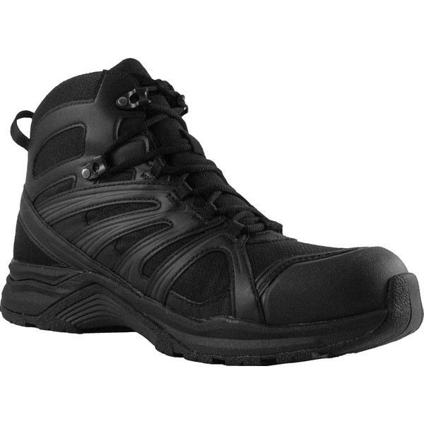 アルタマ メンズ ブーツ&レインブーツ シューズ Abootabad Trail Mid Waterproof Boot Black Nylon Mesh/Microfiber