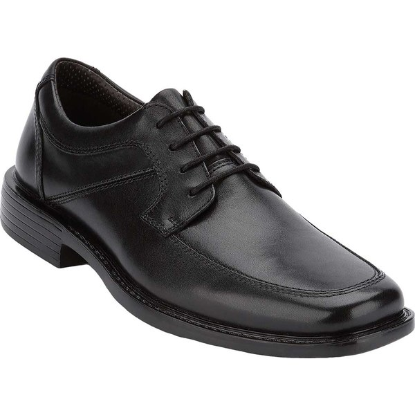 ドッカーズ メンズ ドレスシューズ シューズ Union Lightweight Dress Oxford Black Burnished Full Grain Leather