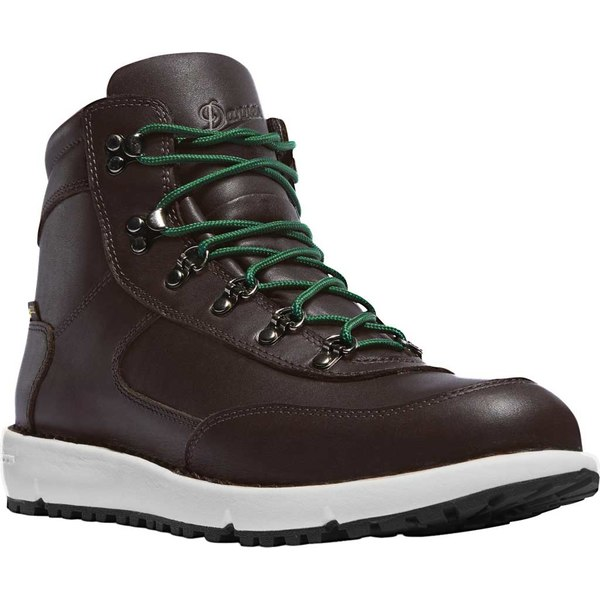 ダナー メンズ ブーツ&レインブーツ シューズ Feather Light 917 GORE-TEX Hiking Boot Dark Brown Full Grain Leather/Textile