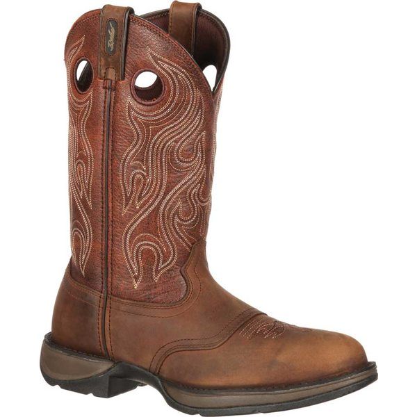ヂュランゴ メンズ ブーツ&レインブーツ シューズ DB5474 Rebel Saddle Western Cowboy Boot Dusk Velocity/Bark Brown Full Grain Leather