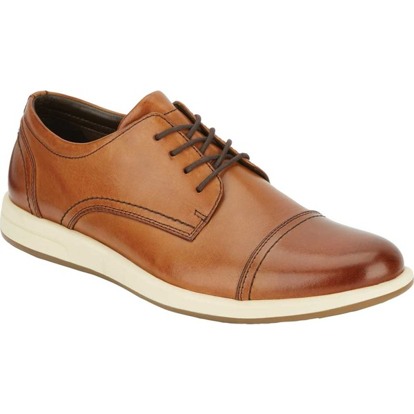 ドッカーズ メンズ ドレスシューズ シューズ Patton Cap Toe Oxford Butterscotch Burnished Polished Full Grain Leather