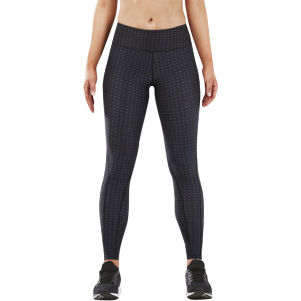2XU レディース レギンス ボトムス Print Mid-Rise Compression Tight Outer Space Urban Grid/Nero