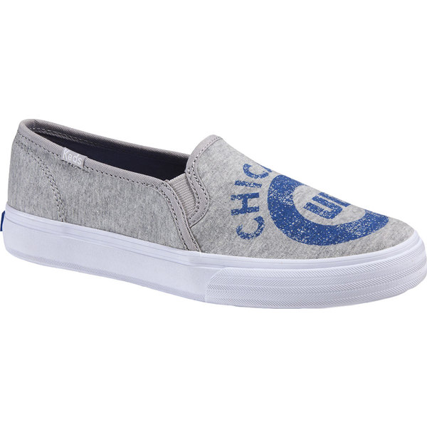 ケッズ レディース スニーカー シューズ Double Decker MLB Slip-On Sneaker Chicago Cubs