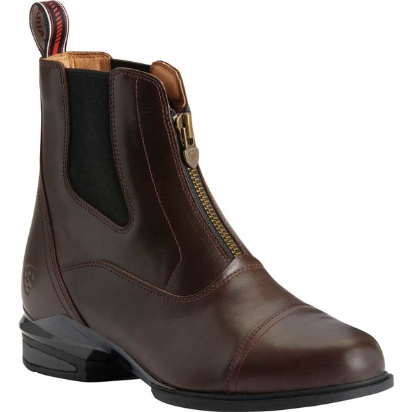 アリアト レディース ブーツ&レインブーツ シューズ Devon Nitro Paddock Waterproof Boot Waxed Chocolate Full Grain Leather