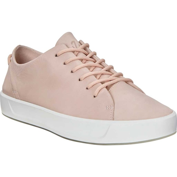 エコー レディース スニーカー シューズ Soft 8 Leisure Tie Sneaker Rose Dust Leather