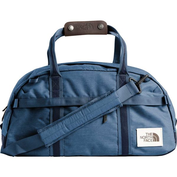 ノースフェイス メンズ ボストンバッグ バッグ Berkeley Duffel Small Shady Blue Light Heather/Urban Navy Light Heather