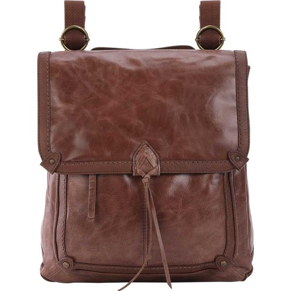 ザサック レディース ショルダーバッグ バッグ Ventura II Convertible Backpack Teak Vintage Distressed Leather