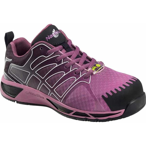 ヌウチルス レディース スニーカー シューズ N2471 Composite Toe Adv ESD Athletic Work Shoe Purple Mesh/Synthetic