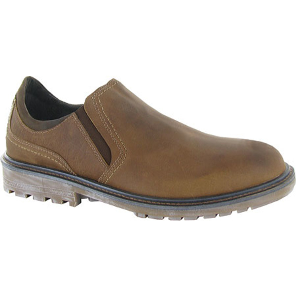 ナオト メンズ ドレスシューズ シューズ Manyara Slip-On Saddle Brown Leather/Oily Brown Nubuck