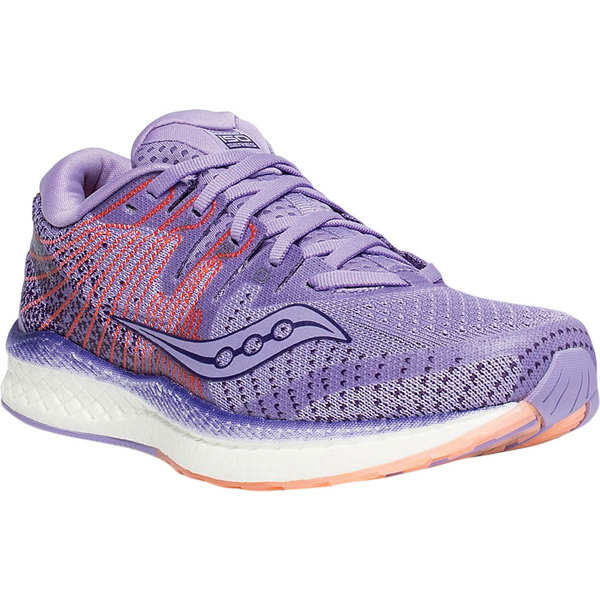 サッカニー レディース スニーカー シューズ Liberty ISO 2 Running Sneaker Purple/Peach ISOKNIT