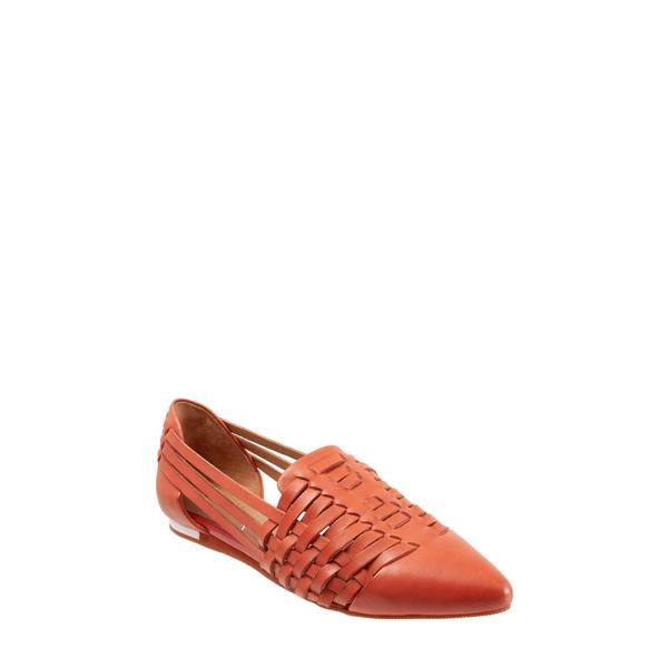 セーブ レディース サンダル シューズ Lola Flat Coral Leather