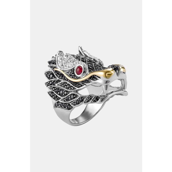 ジョン ハーディー レディース リング アクセサリー 'Naga' Dragon Cocktail Ring Silver Ruby 母の日 楽天年間ランキング受賞 子どもの日 内祝 お祝い