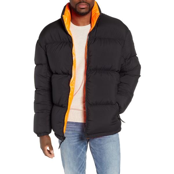 ナイキ メンズ ジャケット&ブルゾン アウター NikeLab Collection Men's Down Puffer Jacket Black/ Hyper Crimson/ Black